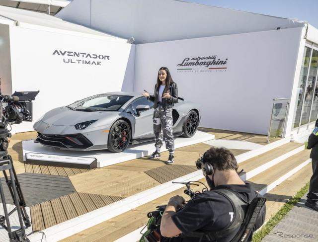 ランボルギーニ・アヴェンタドール LP780-4 Ultimae(グッドウッド2021)《photo by Lamborghini》