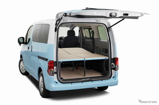 NV200バネット マルチベッド《写真提供 日産自動車》