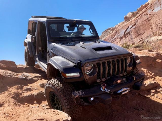 ジープ・ラングラー の「エクストリーム・リーコン・パッケージ」《photo by Jeep》