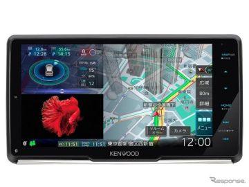 「新・HD描画マップ」で地図表示が大幅進化、彩速ナビ タイプM新モデル発売へ…ケンウッド
