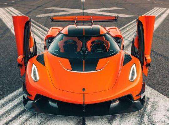 ケーニグセグ『ジェスコ』、量産前のプレシリーズ生産車発表…2022年から納車へ