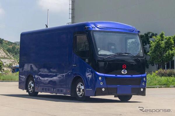 ZMP RoboCar EV Truck《写真提供 ZMP》
