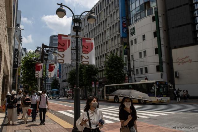 東京都内(7月12日)《Photo by Takashi Aoyama/Getty Images News/ゲッティイメージズ》