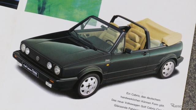 VW ゴルフ カブリオ 初代《カタログ写真撮影 島崎七生人》