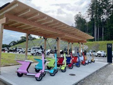 電動三輪モビリティ「Future GOGO!」、国内最大級の商業施設ヴィソンでシェアリングサービス開始