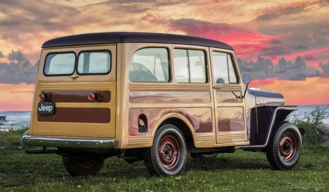 ウィリス・オーバーランド社のウィリス・ワゴン(1946〜1965年)《photo by Jeep》