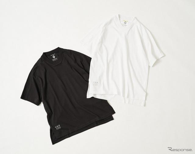 ルノー for エディフィス  ダイアモンドネックTシャツ(8000円)《写真提供 ルノー・ジャポン》