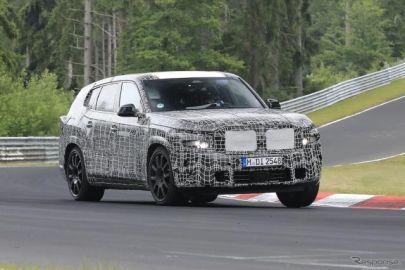 BMWブランド最上位のSUV『X8』がニュルに出現…「X8 M」はMモデル最強に
