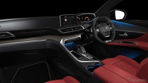プジョー 3008、レッドナッパレザーシートなどを備えた特別仕様車発売