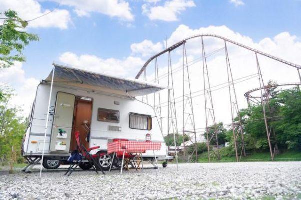 【夏休み】遊園地初のRVパーク、よみうりランドにオープン…温浴施設隣接で車中泊に最適