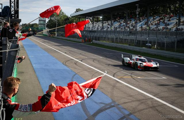 #7 トヨタGR010がWECモンツァ戦を制した。《Photo by TOYOTA》