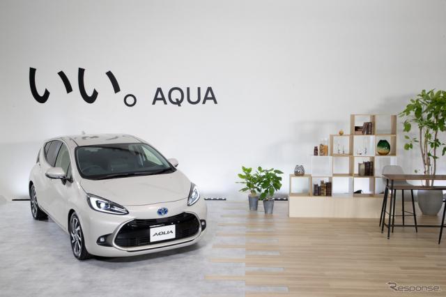 トヨタ・アクア新型《写真提供 トヨタ自動車》