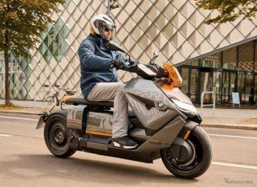 BMWの新型電動スクーター『CE 04』の実車展示へ…IAAモビリティ2021