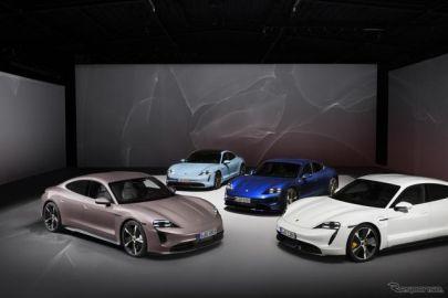 ポルシェ、EVの世界販売は4.4倍に…タイカンが好調 2021年上半期