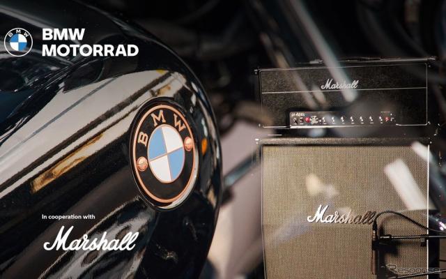 BMWモトラッドがマーシャルと提携を結び二輪車向け新サウンドシステムを共同開発《photo by BMW》