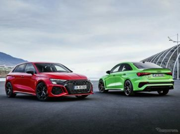 アウディ A3 新型に頂点、400馬力の『RS3』新型…受注を欧州で開始