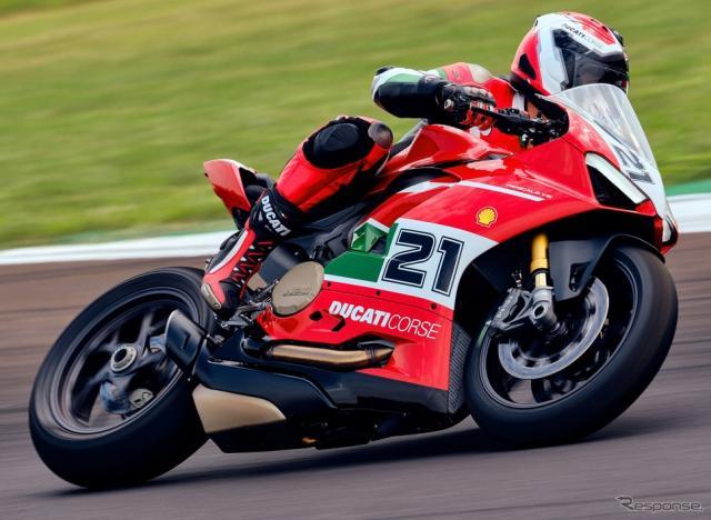 ドゥカティ・パニガーレ V2 の「ベイリス1stチャンピオンシップ20thアニバーサリー」《photo by Ducati》