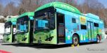 会津バス(みちのりホールディングス)のEVバス《写真提供 みちのりホールディングス》