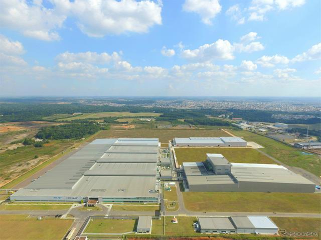 住友ゴム工業 ブラジル工場《写真提供 住友ゴム工業》