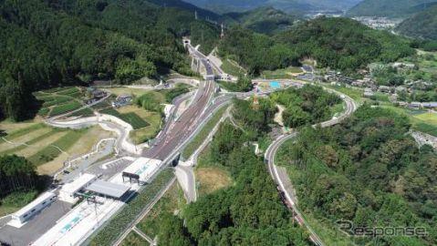 中部横断道 山梨-静岡間が全線開通、中央道/新東名/東名と直結 8月29日