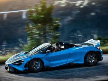 マクラーレン『765LTスパイダー』、765馬力の軽量オープン…欧州発表
