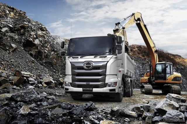 豪州向け大型トラック日野700シリーズ FS《写真提供 日野自動車》