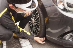 4台に1台がタイヤ整備不良、表面損傷や残溝不足にも注意を---ダンロップ