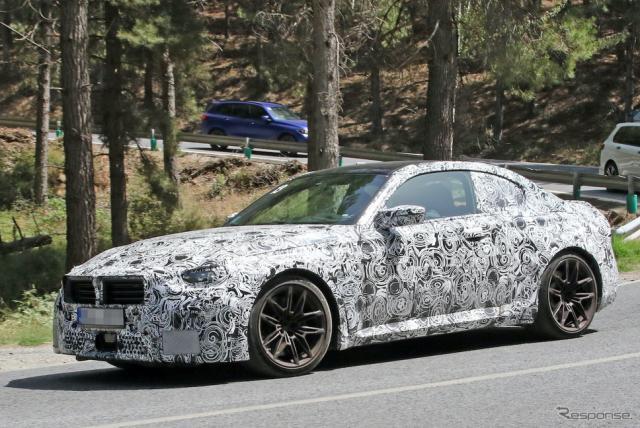 BMW M2クーペ 新型プロトタイプ(スクープ写真)《APOLLO NEWS SERVICE》