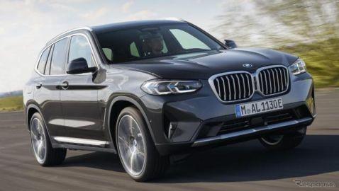 BMW X3 改良新型、48Vマイルドハイブリッド搭載…IAAモビリティ2021で発表へ