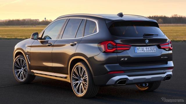 BMW X3 改良新型《photo by BMW》