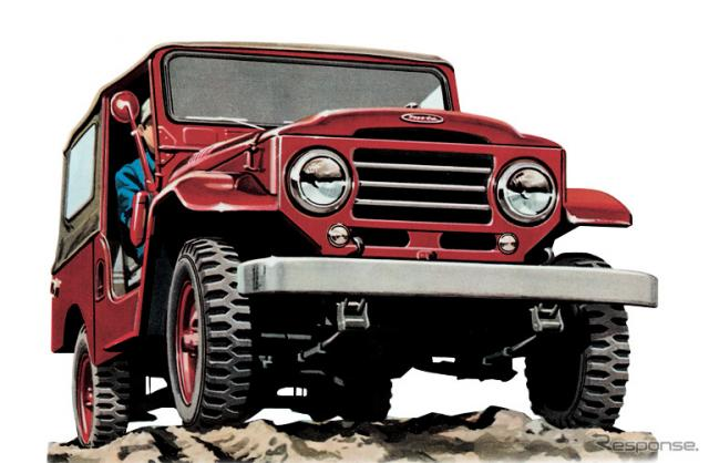 1955年:ランドクルーザー20系《画像提供 トヨタ自動車》