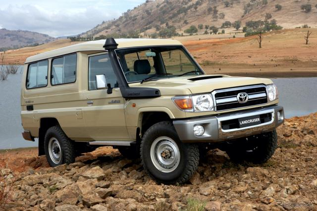 2007年ランドクルーザー78トゥループキャリアGXL(オーストラリア向け)《photo by Toyota》