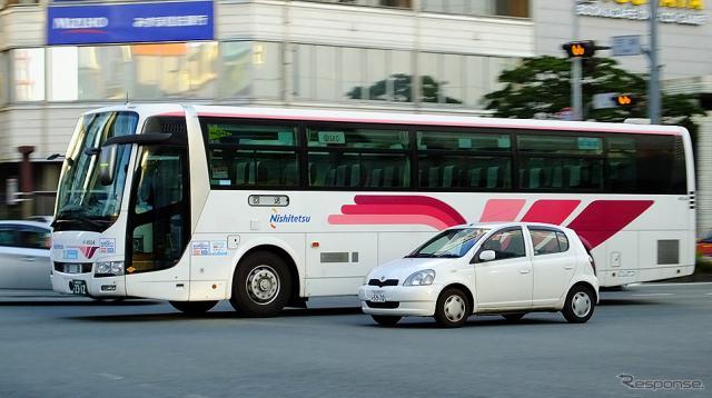 西鉄高速バス(イメージ)《写真撮影 大野雅人》