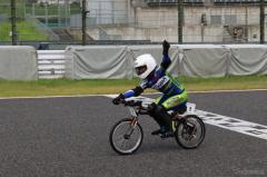 【Ene-1 Challenge】KV-BIKEはミツバイクが7連覇…単三電池40本の2輪レース