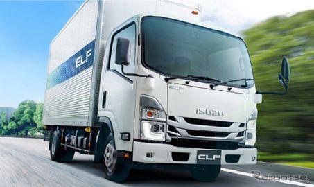日野自動車、いすゞ エルフ を北米でOEM販売