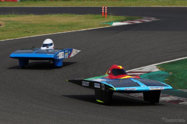 4時間レース総合2位のオリンパスRS《写真撮影 竹内英士》
