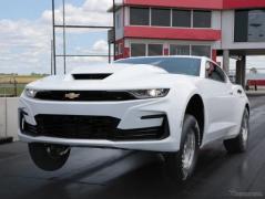 シボレー カマロ に9.4リットルV8搭載、ドラッグレーサー「COPO」に2022年型…米国発表