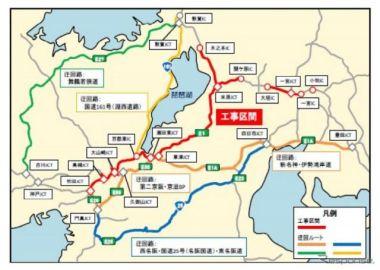 名神 吹田IC-小牧ICなどで集中工事 8月29日から9月18日