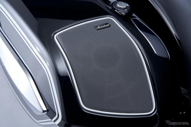 BMWモトラッドのマーシャル製サウンドシステム《photo by BMW》