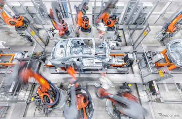 アウディのドイツ・インゴルシュタット工場《photo by Audi》