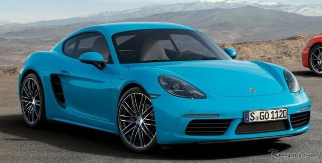 ポルシェ718ケイマン《photo by Porsche》