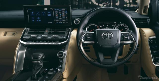 トヨタ・ランドクルーザー新型《写真提供 トヨタ自動車》