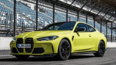 コンチネンタル、BMW M4 新型の純正タイヤに指名…「SportContact 6」