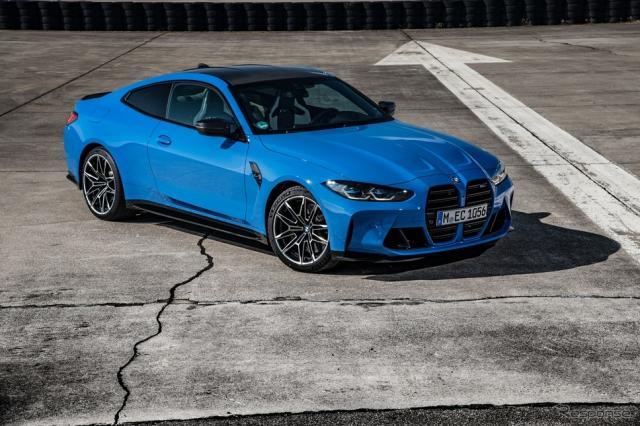 BMW M4 コンペティション・クーペ 新型の「M xDrive」《photo by BMW》