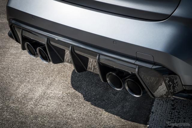 BMW M3 コンペティション・セダン 新型の「M xDrive」《photo by BMW》