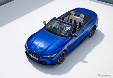 BMW M4 新型にカブリオレ、510馬力ツインターボ搭載…モントレー・カーウィーク2021で発表へ