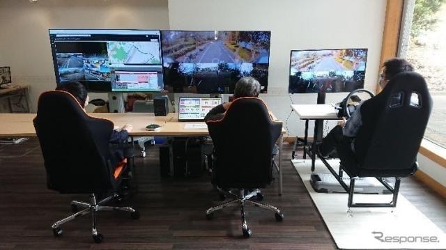遠隔4都市での自動走行を1カ所でコントロール…東急が静岡県の実証事業を受託
