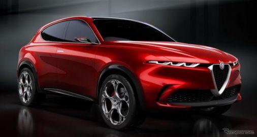 アルファロメオの新型車、2027年以降はEVのみに…欧米と中国