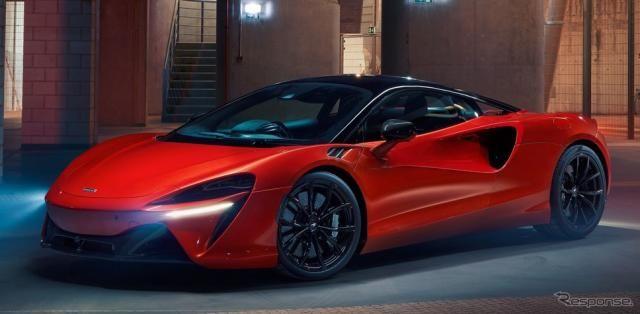 マクラーレンの新世代スーパーカー『アルトゥーラ』、680馬力PHV…ペブルビーチ2021に展示へ