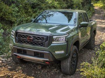 日産の中型ピックアップトラック、『フロンティア』に新型 9月に米国発売